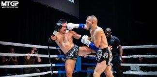 Muay Thai fight kick hook