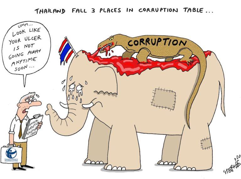 THAÏLANDE – DESSIN DE LA SEMAINE: La corruption, ce mal de «l'État profond» thaïlandais