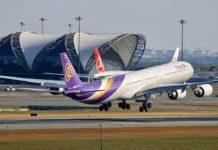 thai airways vols