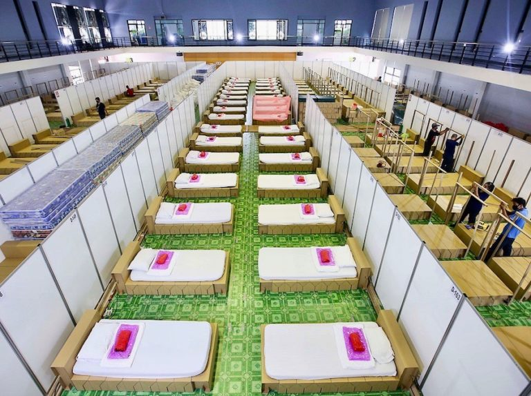 THAÏLANDE – CORONAVIRUS: Les hôpitaux thaïlandais sont ils bientôt saturés ?