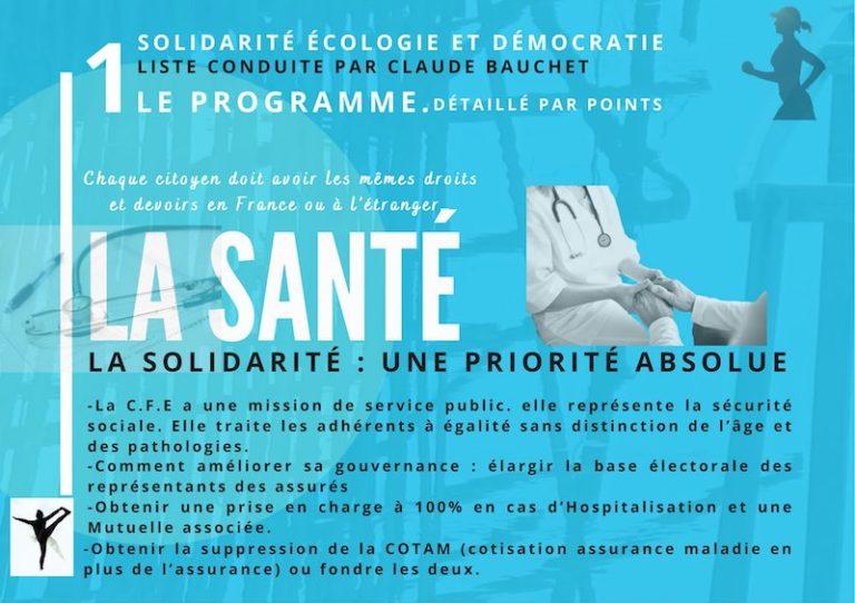 THAÏLANDE – FRANCE: La liste Solidarité-écologie et démocratie défend son programme santé