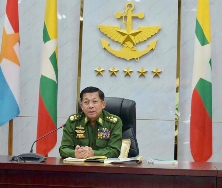 BIRMANIE – DIPLOMATIE : La junte birmane exige que son chef participe au sommet de l'ASEAN