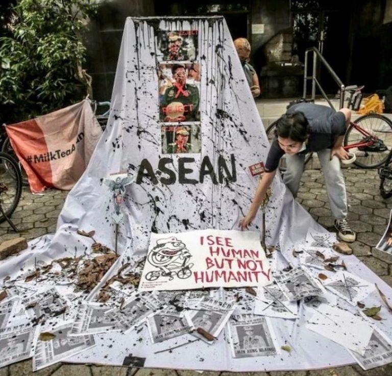 BIRMANIE – ASEAN : L'éloquente impuissance régionale face aux généraux birmans