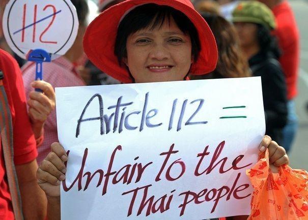 Pétition au parlement pour amender la loi de lèse-majesté en Thaïlande