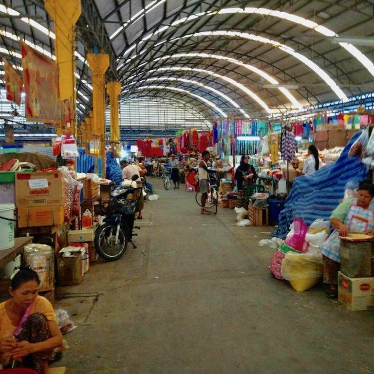 THAÏLANDE – COVID : Le marché de Mae Sot ferme pour cause de pandémie