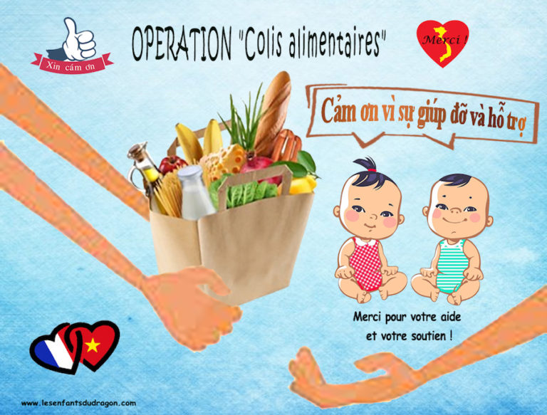 VIETNAM – SOLIDARITÉ : À Hô-Chi-Minh-Ville l'association « Les enfants du dragon » organise une distribution de colis alimentaires