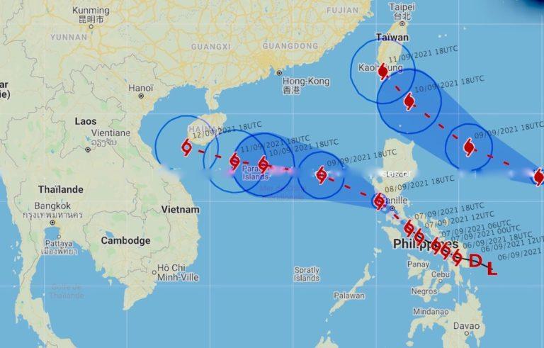 THAÏLANDE – MÉTÉO : Forte pluie et risque de tempête tropicale sur le golfe de Thaïlande