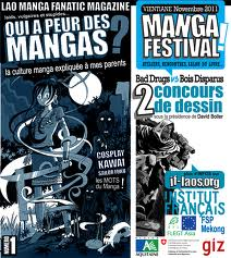 Le manga et la BD s'invitent au Laos