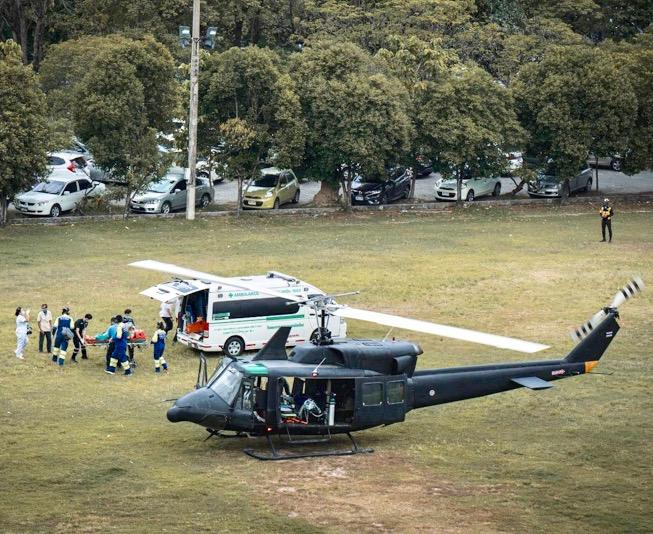 THAÏLANDE – SOCIÉTÉ : L'armée thaïlandaise propose ses ambulances héliportées