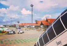 aéroport au Cambodge