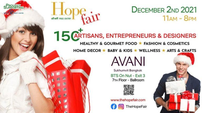 BANGKOK – INITIATIVE : Le 2 décembre, « la foire de l'espoir » revient, pour la bonne cause