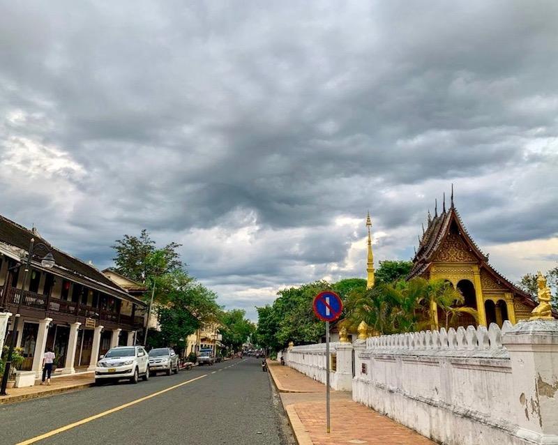 Luang Prabang rue vide