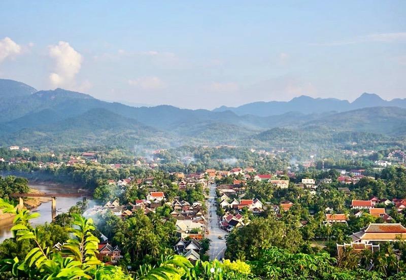 ville de Luang Prabang au Laos