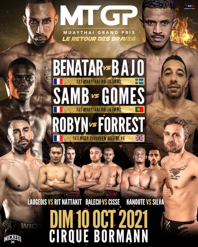 MTGP Paris boxe thaïlandaise
