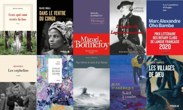 ASIE – FRANCOPHONIE : 10 romans en finale pour le prix francophone des cinq continents