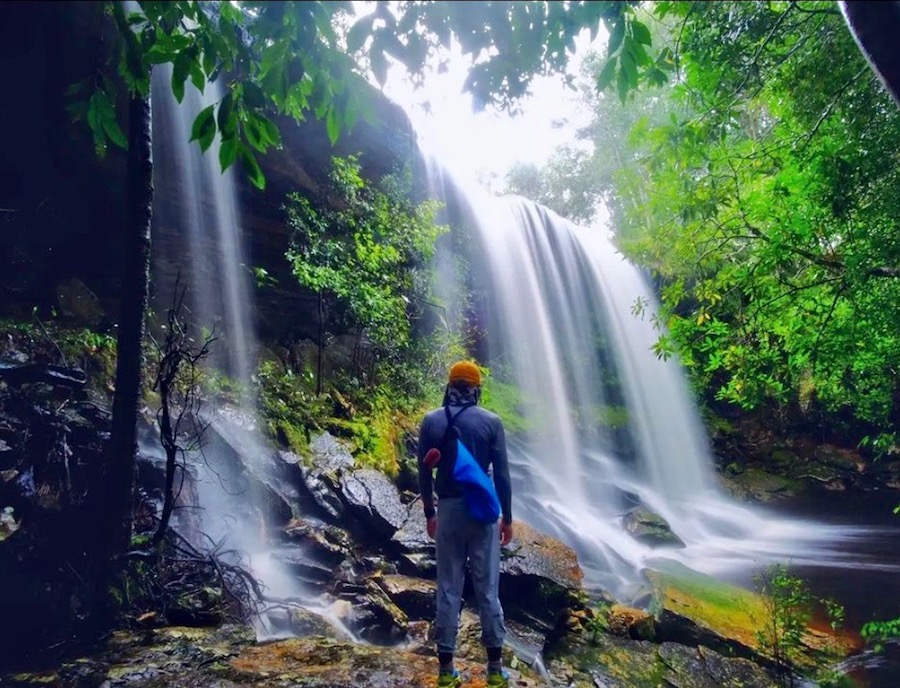 Phu Kradueng cascade