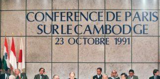 accord de Paris Cambodge