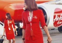 Air Asia hotesse Bangkok