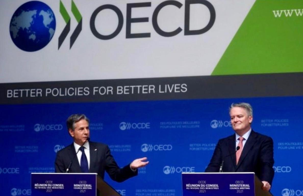 OCDE imposition chiffres d'affaires