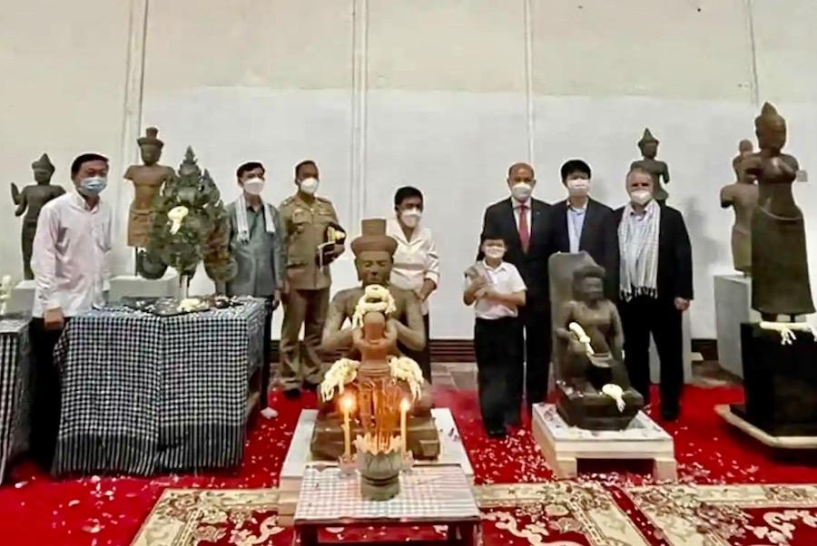 restitution patrimoine Cambodge